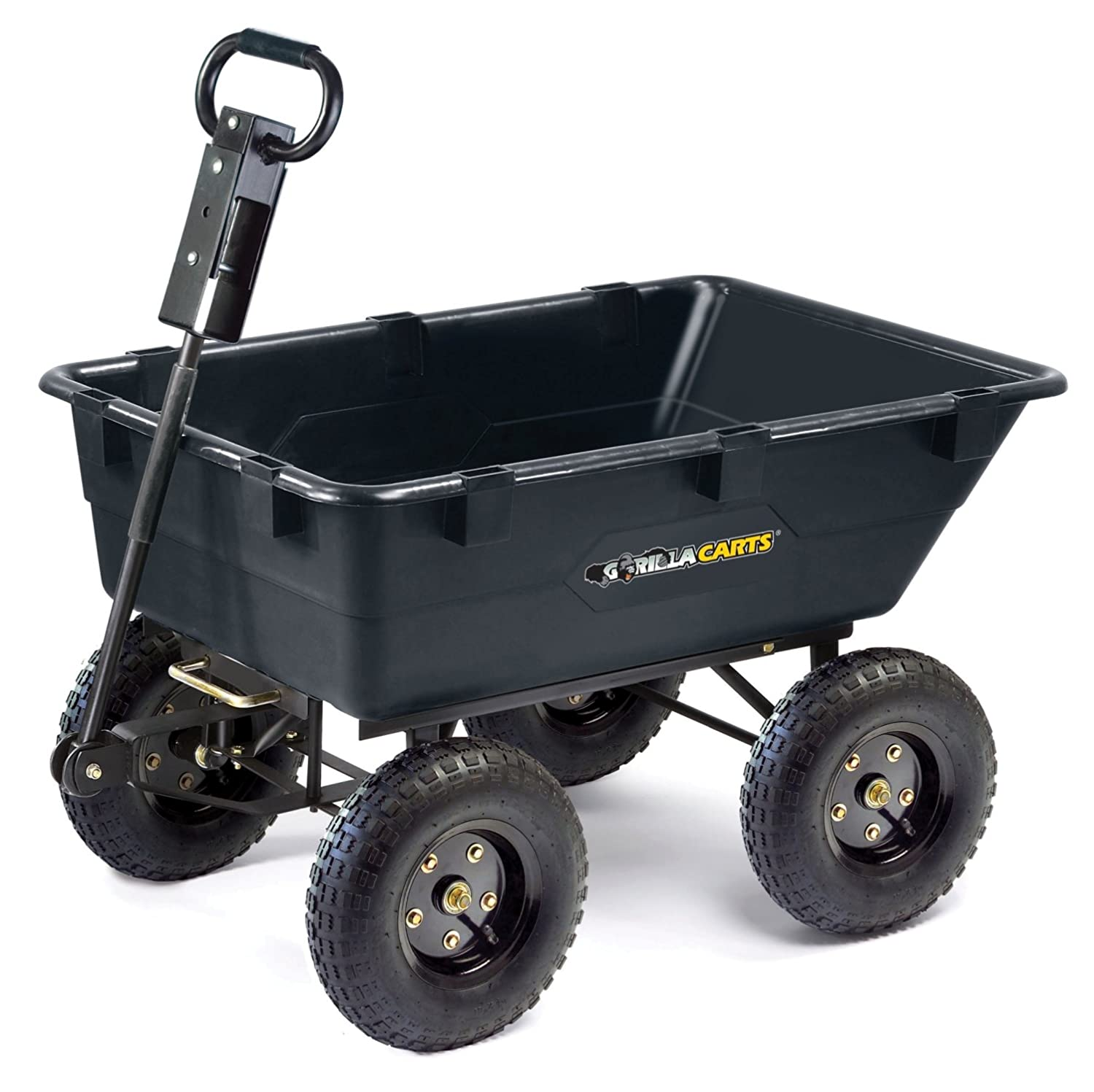 Gorilla cart gor866d - 1200 Lbs Wheelbarrow