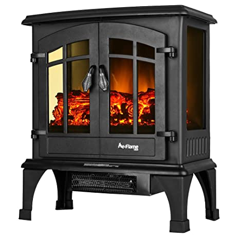Jasper Portable Free Standing Electric Fireplace Stove By E Flame USA U2013  23 Inches