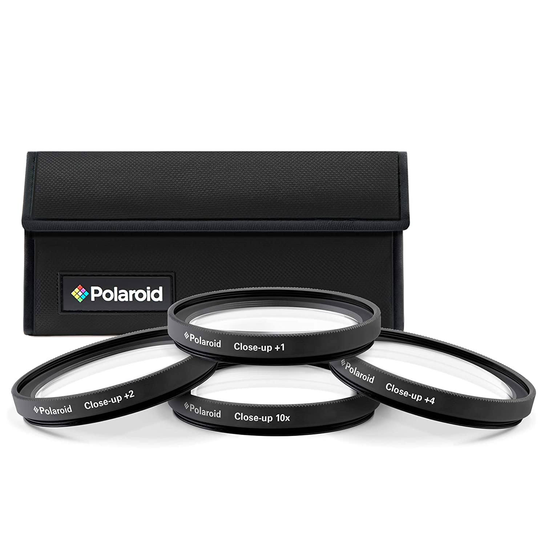 Polaroid Optics 52mm 4 Piece Close Up Filter Set (+1, +2, +4, +10) PLFILDCCL52