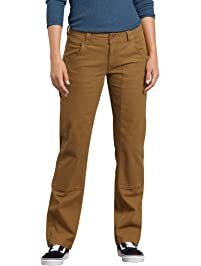 19b651e3eed Dickies Women s Stretch Duck Double Front Carpenter Pant