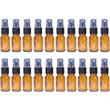 Juvale 30ml Refillable Cosmetic Perfume Mist Spray Atomizer Glass Bottle - 20 Piece Set