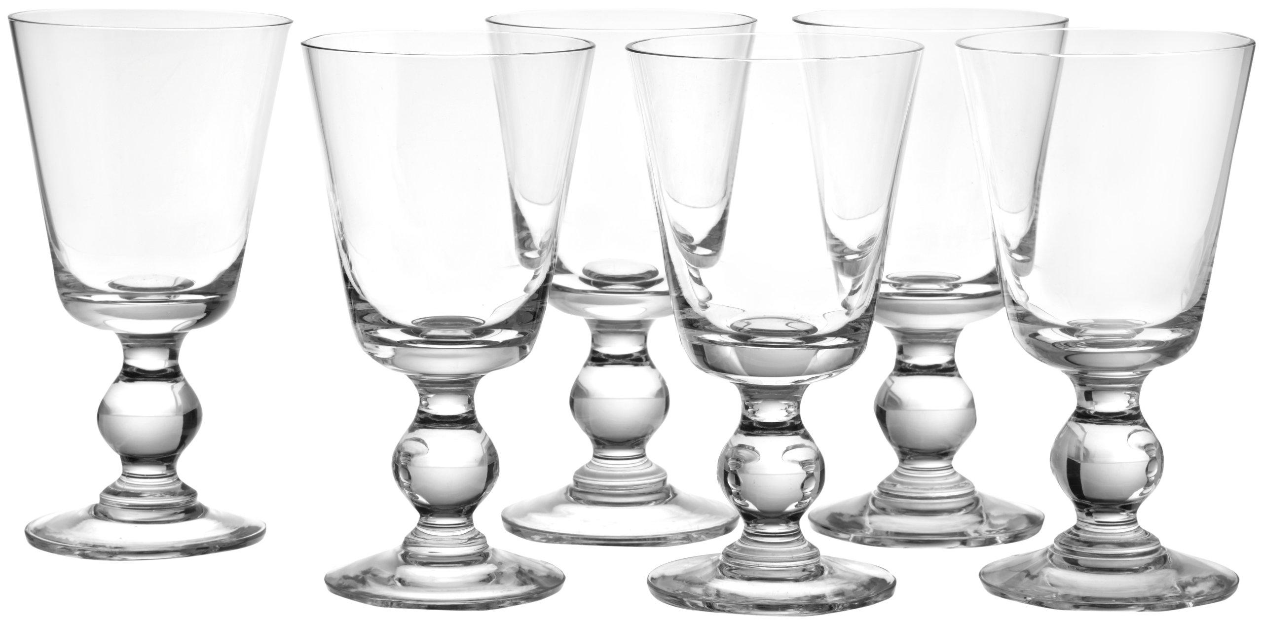La Rochere Set Of 6, 8.5-ounce Bocage Mouth Blown Wine Glasses by La Rochere (Image #2)