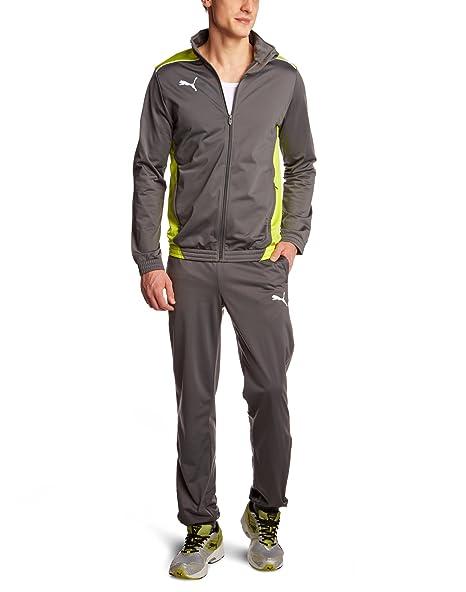 b636245976 Puma, Tuta Uomo Foundation Poly Suit II: Amazon.it: Sport e tempo libero
