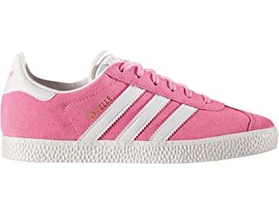 Buy adidas Originals Pink Gazelle Youth Trainers from the