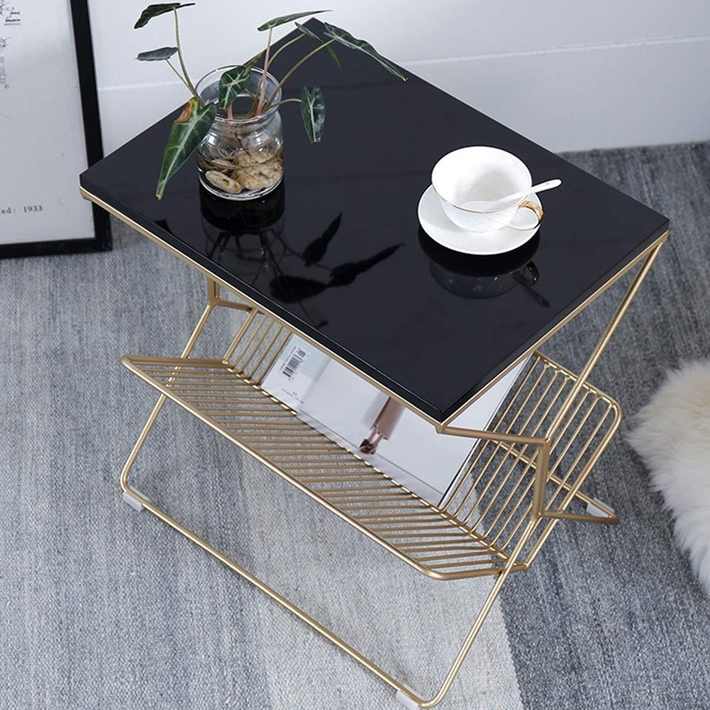 HQCC Simplicité Moderne Chambre Table de Chevet en marbre ...