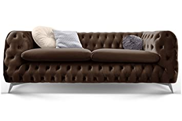 Chesterfield Sofa Stoff ~ Chesterfield sofa couch stoff samt sitzer sitzer sessel