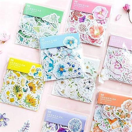 Cute Pattern Self Adhesive DIY Decorative Diary Scrapbook Envelope Stickers Gift