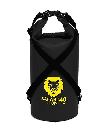 565e4585ba Adventure Lion Premium Waterproof Dry Bag With Shoulder Strap   Grab  Handle