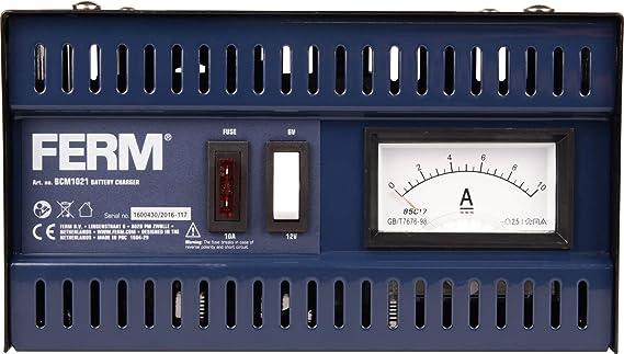 Ferm Batterie Ladegerät 6v 12v 5a Baumarkt