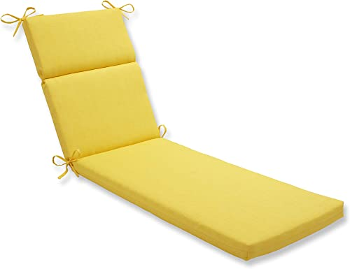 Pillow Perfect Outdoor/Indoor Fresco Chaise Lounge Cushion