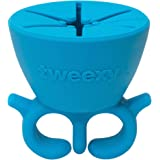 tweexy - Wearable Nail Polish Bottle Holder (Beach Glass Blue)