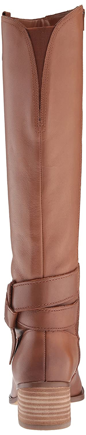 Naturalizer Women's Dev Wc Riding Boot B072BZ4PHT 9 B(M) US|Saddle