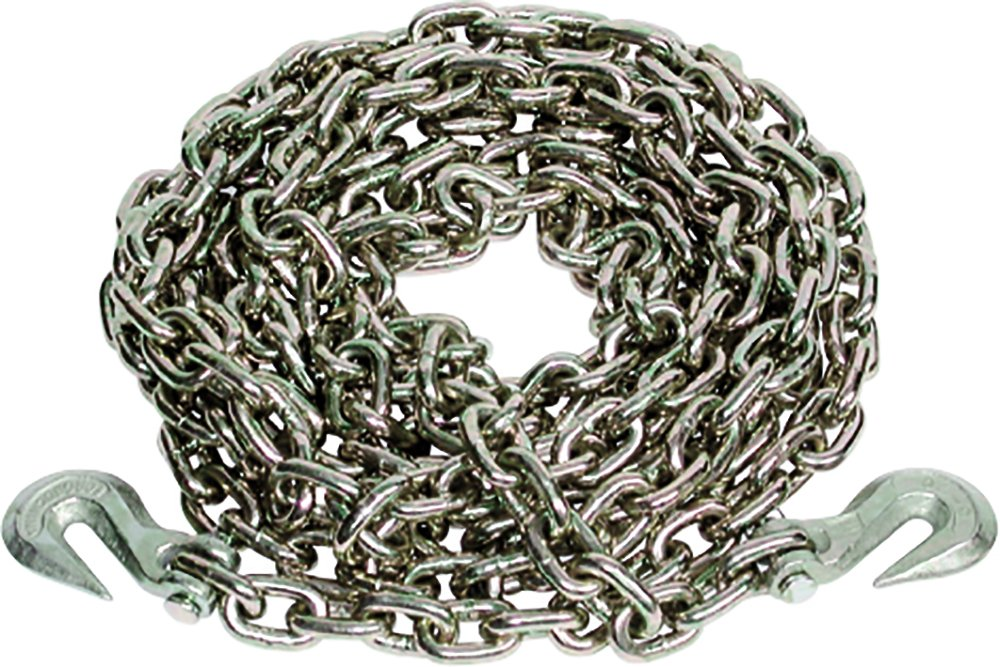 Ancra 49958-38-20 Transport Chain with Grab Hooks Grade 43 3//8-Inch by 20-Foot Bulk