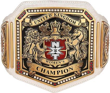 WWE Authentic Wear NXT Womens United Kingdom Championship Replica Title Belt