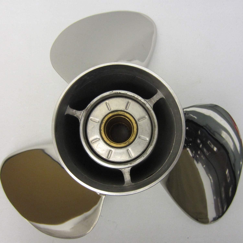 Volvo Penta SX New OEM Stainless Steel Propeller 14.75 x 21 Prop 3860709 14-3//4