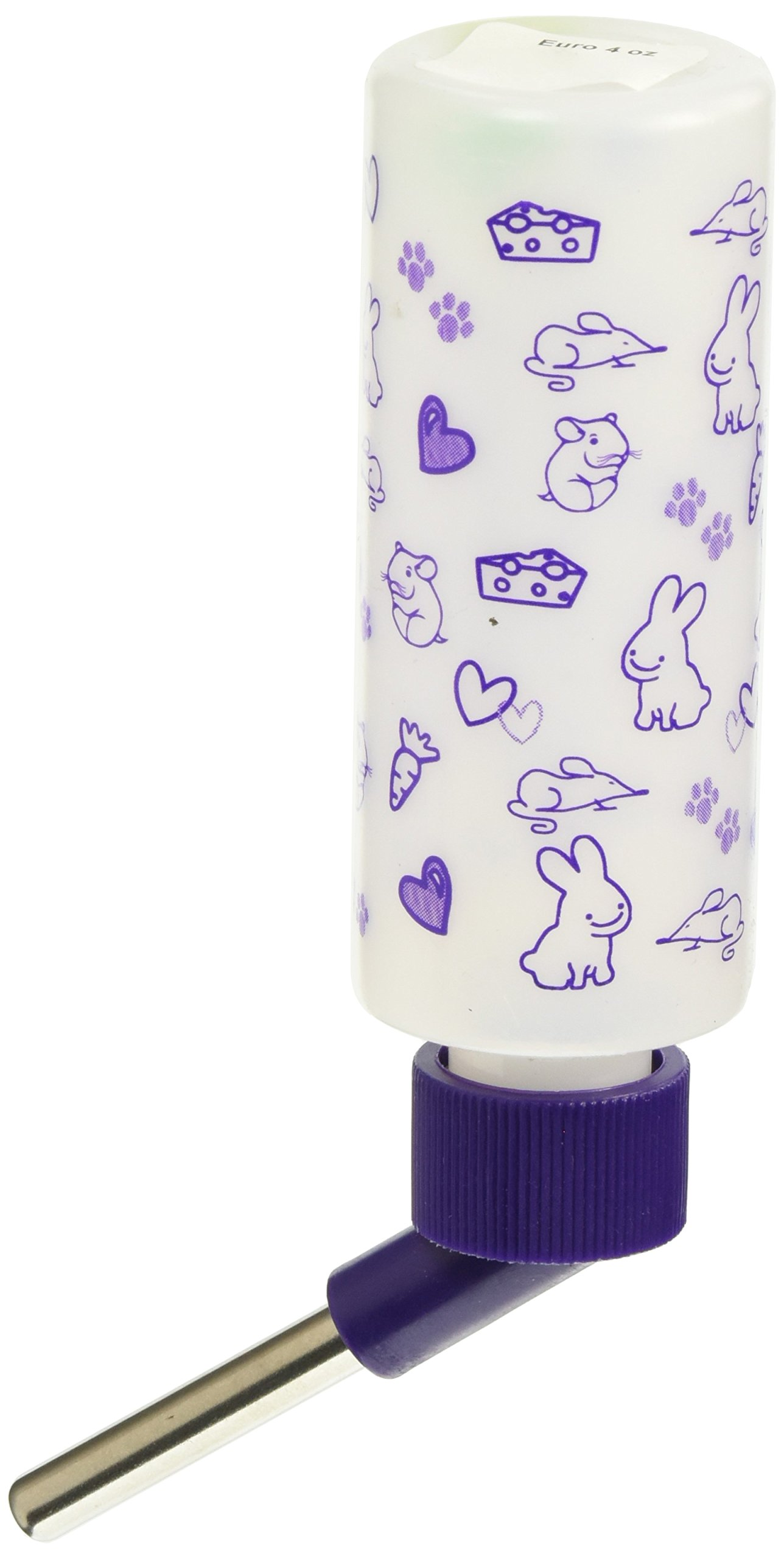 Lixit Corporation SLX0534 12-Pack Critter Brites Small Animal Water Bottle, 4-Ounce, Day Glow