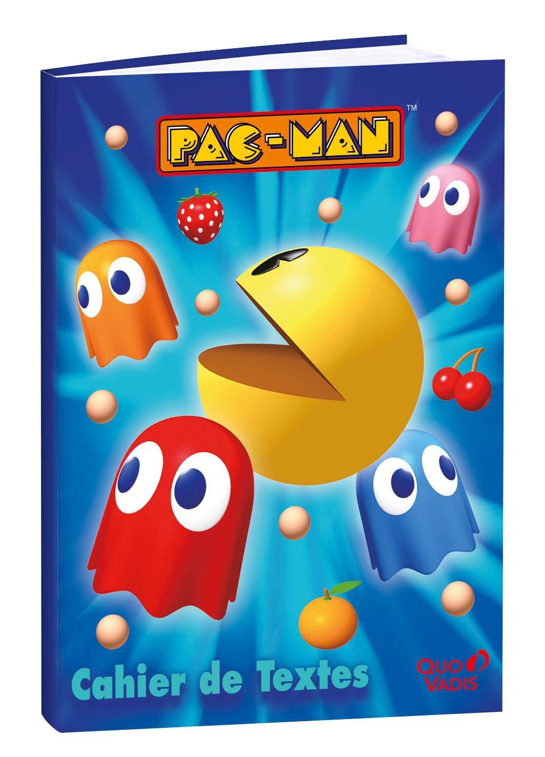 Quo Vadis Pac-Man Cahier de Textes 15 x 21 cm 266350Q