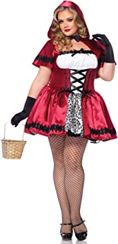 Generique - Disfraz Caperucita roja Mujer Talla Grande XXXL ...