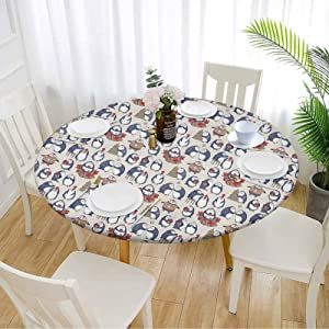 Christmas Outdoor Table Cover 48