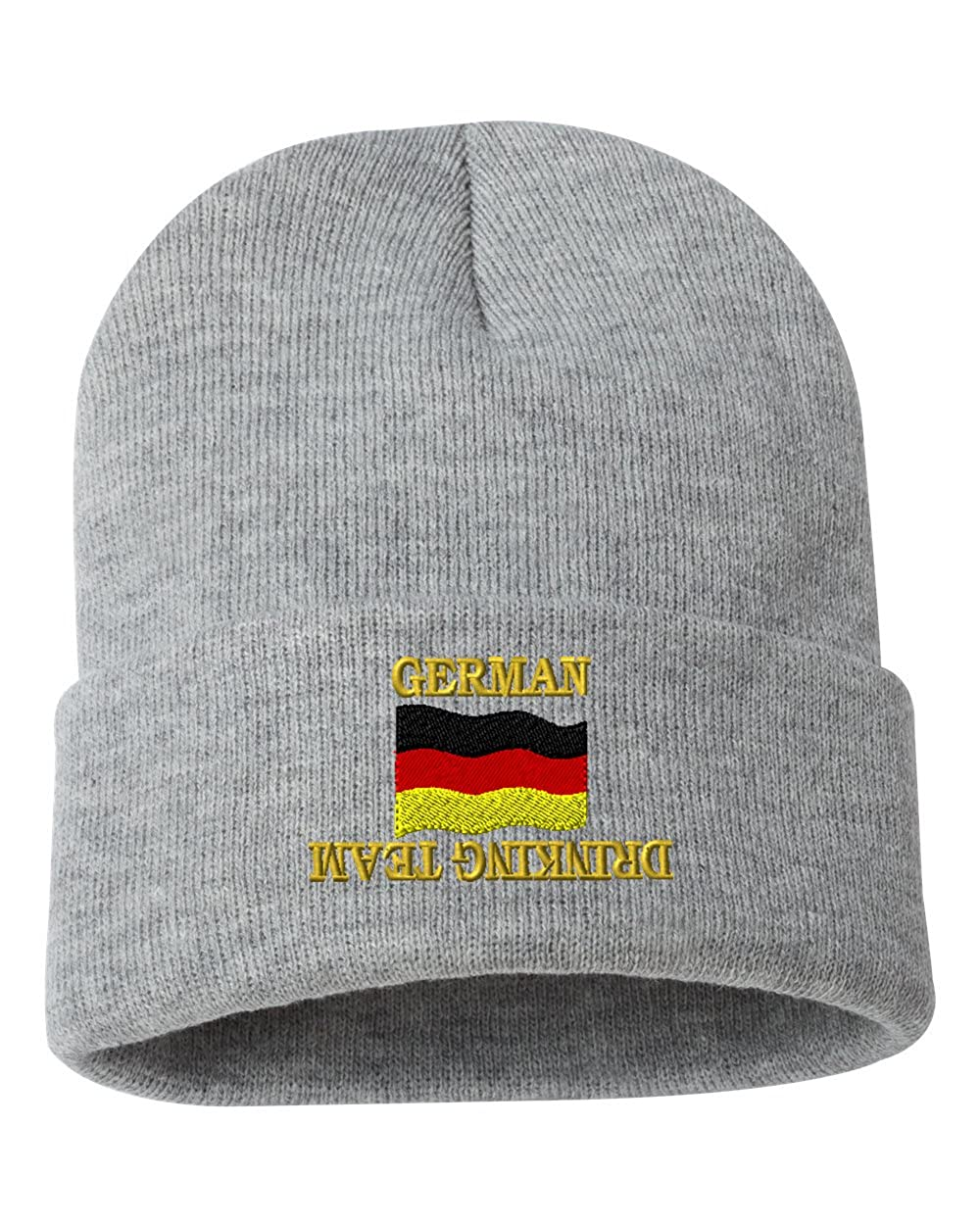 German Drinking Team Custom Personalized Embroidery Embroidered Beanie