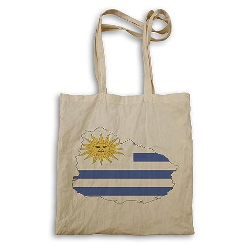 5ab7d1905 INNOGLEN Nuevo Uruguay Bandera Viajes De Arte bolso de mano l893r:  Amazon.es: Zapatos y complementos
