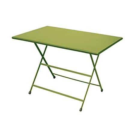Arc en Ciel mesa plegable rectangular - Verde - 110 x 70 cm ...