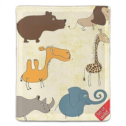 f35a11951105b Amazon.com : Mouse Pad Wild Animals Mousepad Non Slip Rubber Mouse ...