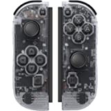 Joypad Controller Compatible with Switch Controller Joy-Pads with Grip Hand,Switch Controllers Supports Wake-up Function (Tra
