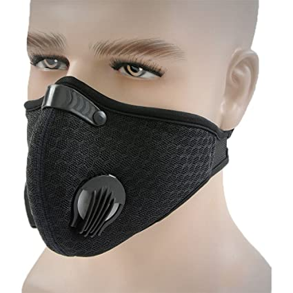 With Dustproof Outdoor Cycling Pollution Filter Mask Topnisus Activities Anti For Running Dust