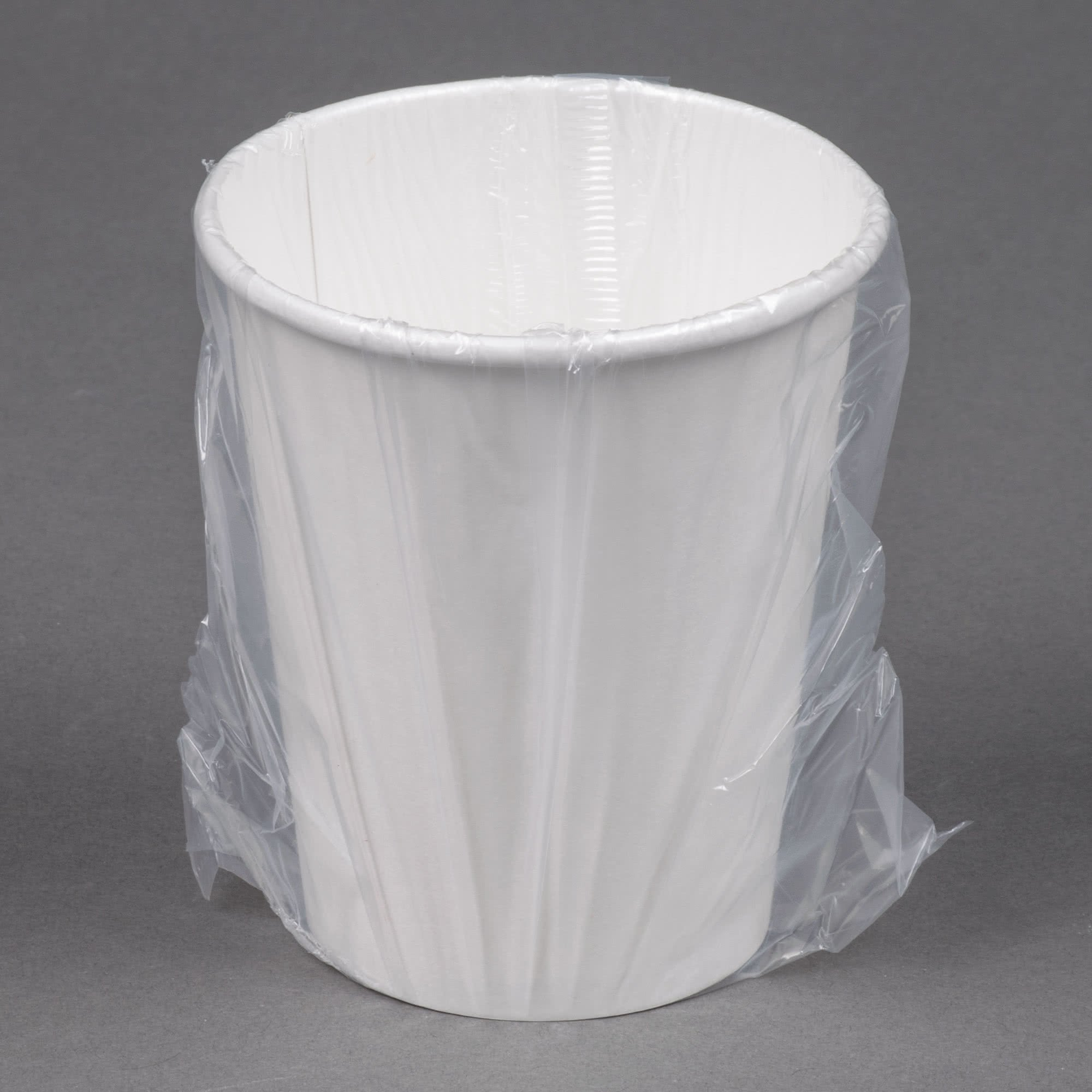 TableTop King W370RC Hotel and Motel 10 oz. Individually Wrapped Paper Hot Cup - 480/Case