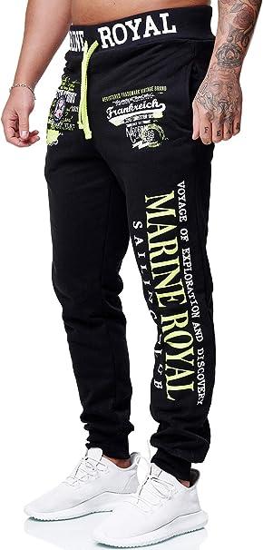 OneRedox Herren Jogginghose Sporthose M/änner Trainingshose Sweatpants 3629