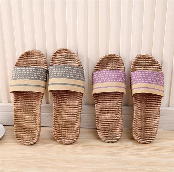 Pantofole in cotone e biancheria pacchi domestici in lana bianca e interna  al termine della protezione ambientale pantofole antisdrucciolevoli in gomma  2pcs ...