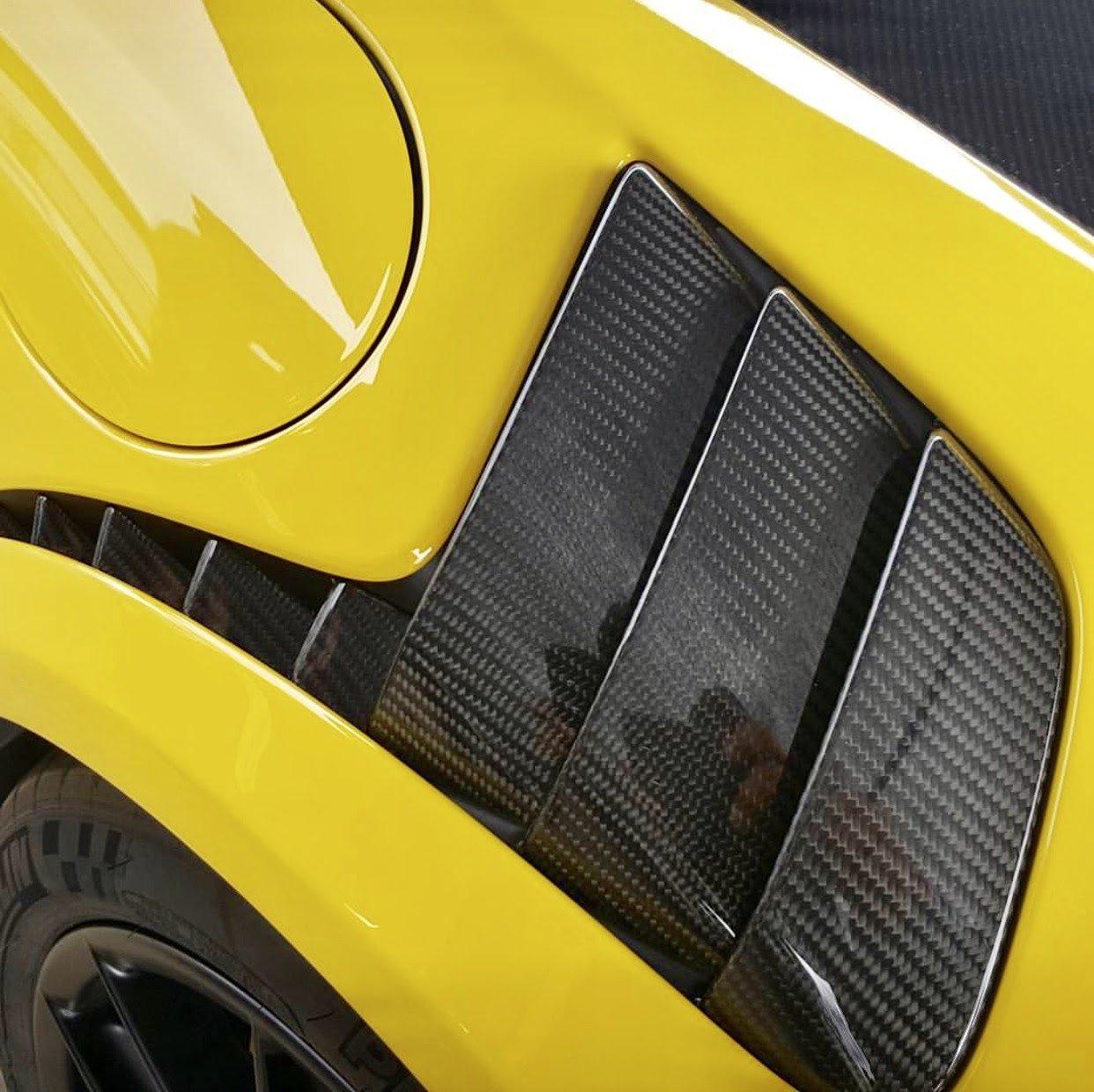 Amazon.com: Porsche 991.2 GT2RS style Carbon Fiber Louvered Fenders for 991 & 991.2 Turbo: Automotive