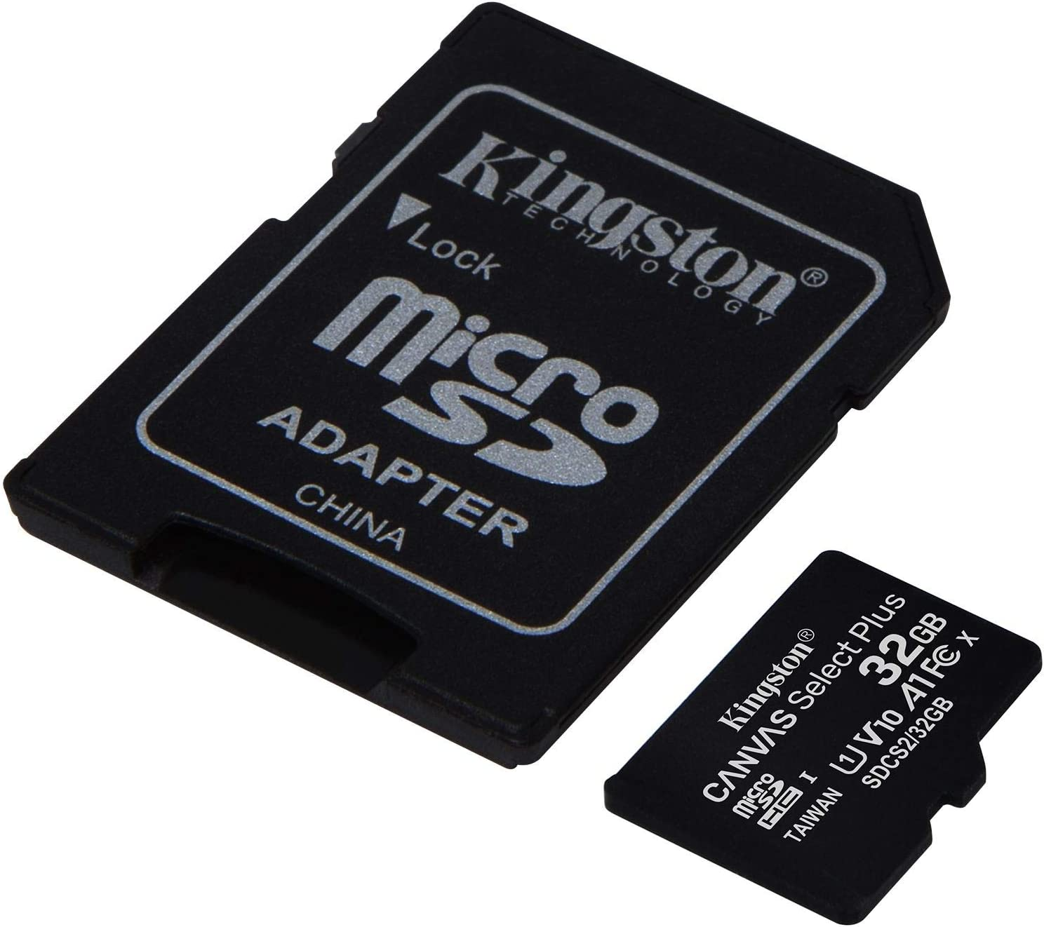 Kingston 32GB Lenovo A7000 MicroSDHC Canvas Select Plus Card Verified by SanFlash. (100MBs Works with Kingston)