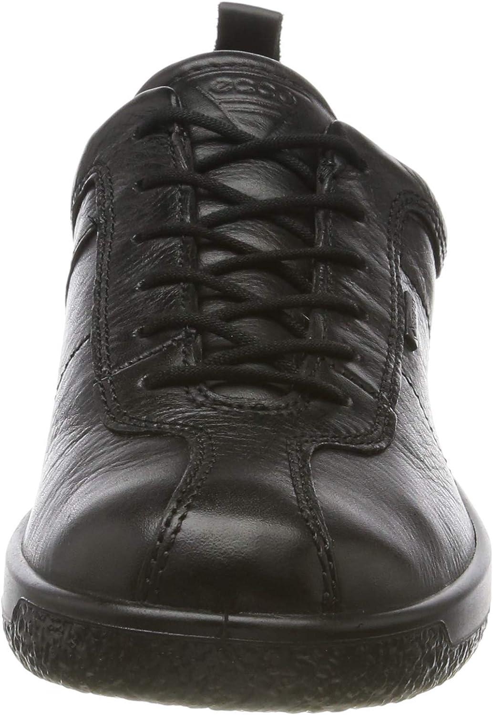 ECCO Damen Soft 1 W Sneaker Schwarz Black 1001