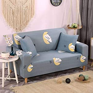 HUANXA Sectional Sofa Covers Set Seat Cover Slipcover Sofa Towel 1/2/3/4-seater Slipcovers for Furniture Stretch Couch covers-AK-individual90-140cm