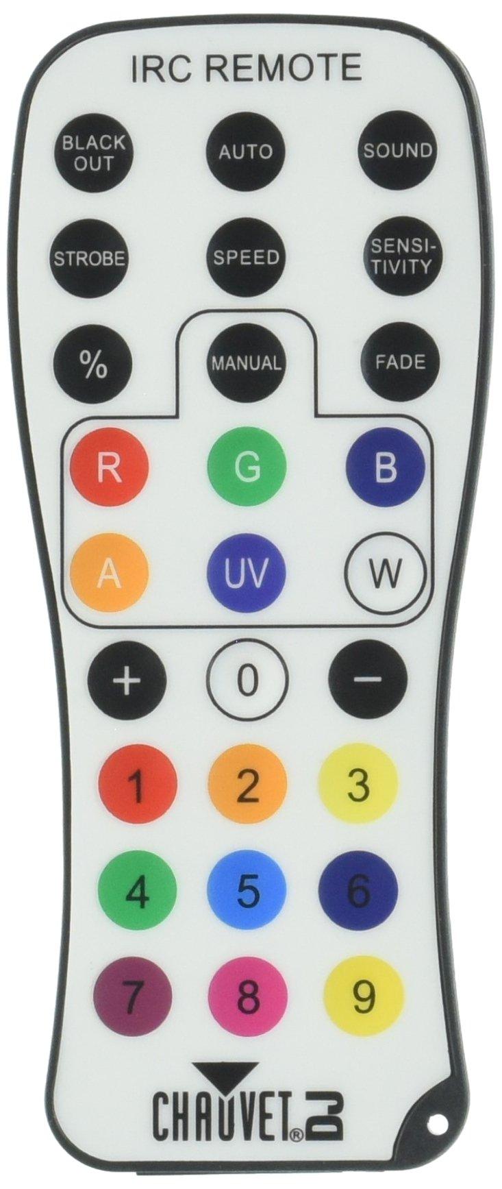 CHAUVET DJ IRC-6 Infared Remote Control for DJ Effect/Strobe Lighting