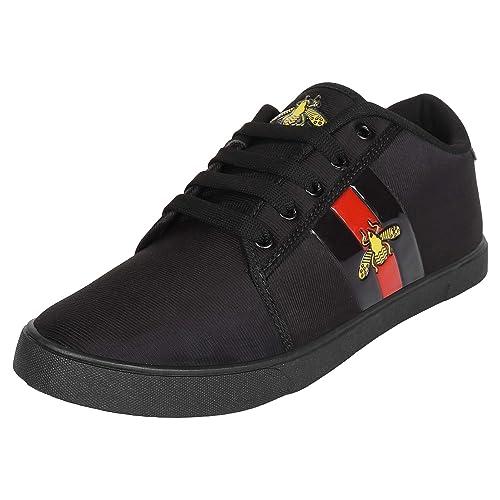 Trendy Look Synthetik Black Sneakers