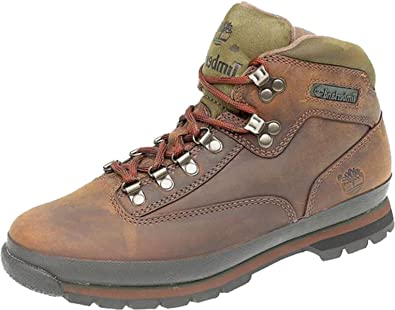 14f6b8ad52142 Timberland 95100 Lace-up Hiker Boot Brown 12: Amazon.co.uk: Shoes & Bags