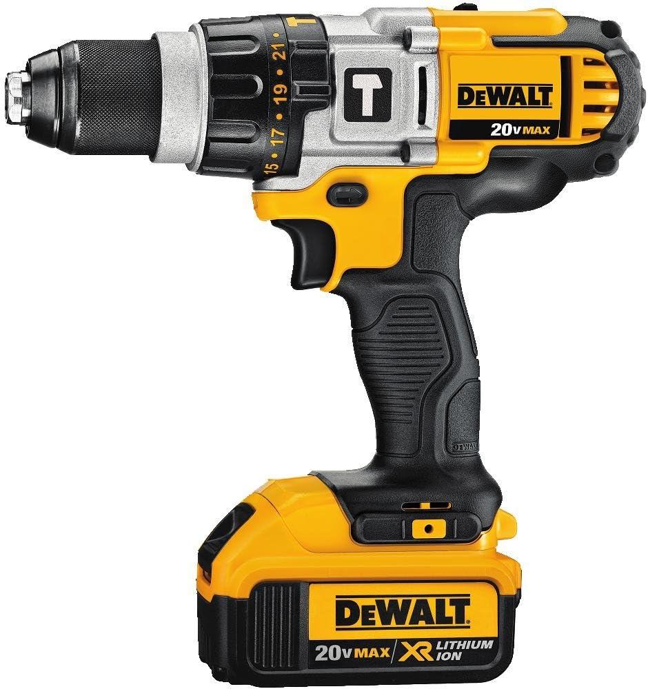 DEWALT DCD985L2 20-Volt MAX Li-Ion Premium 3.0 Ah Hammerdrill Driver Kit