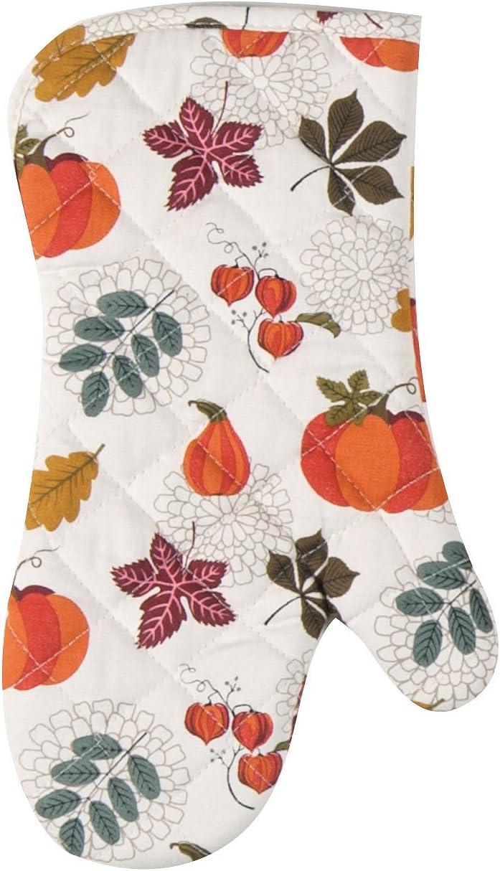 Kay Dee Designs Fall Autumn Leaves & Pumpkins Oven Mitt