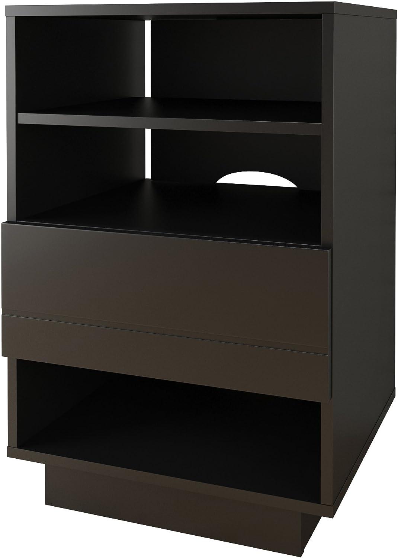 Nexera Audio Cabinet, Black