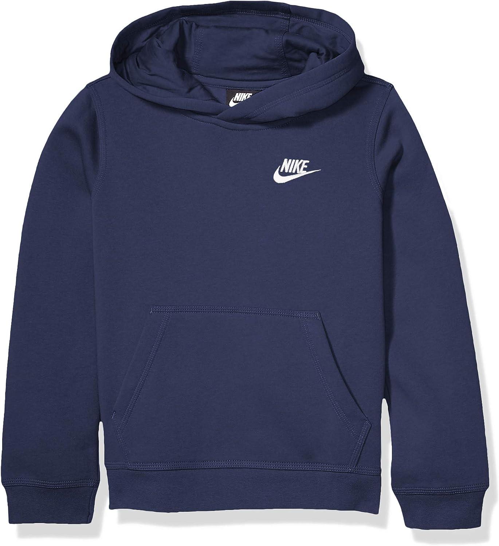 Nike Kinder Sportswear Po Club Kapuzenpullover