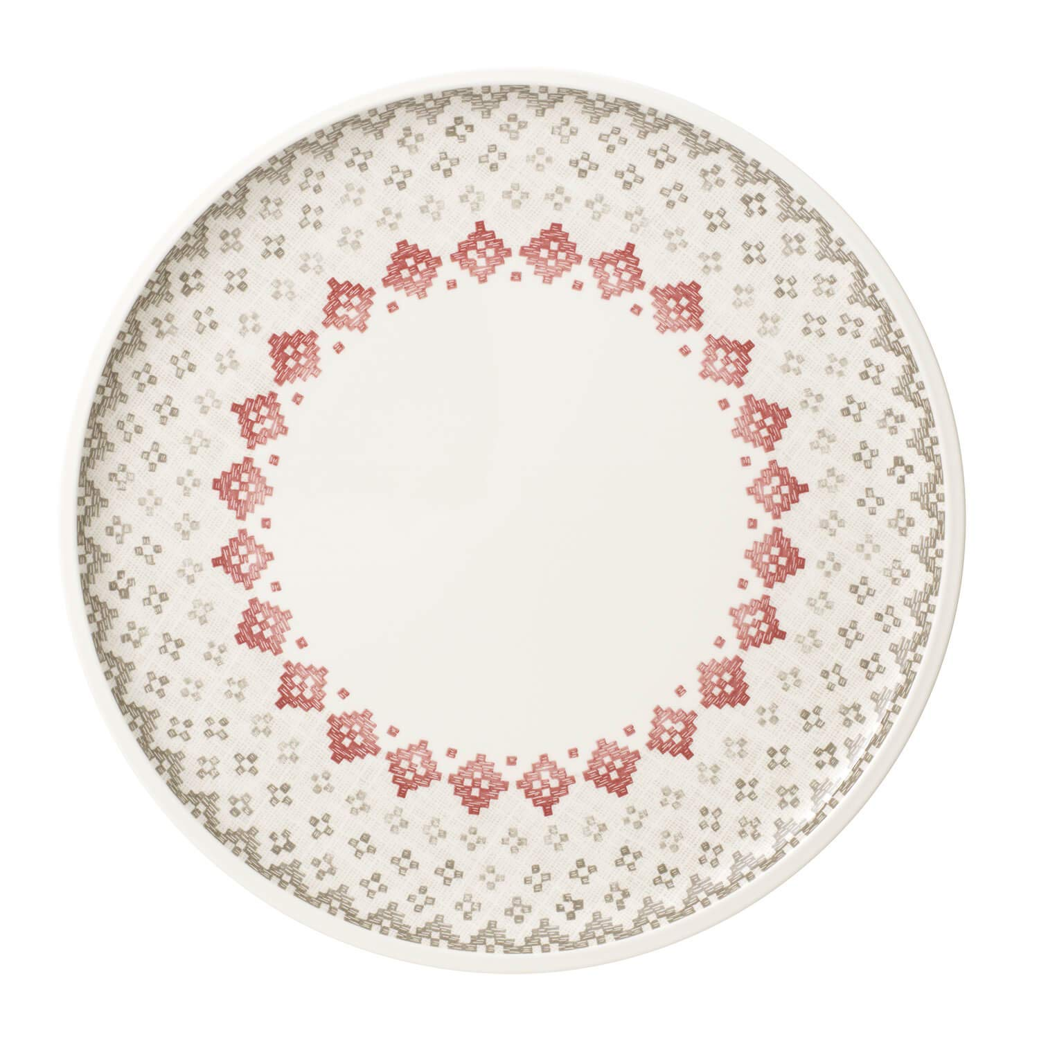 Artesano Montagne Buffet/ Pizza Plate by Villeroy & Boch - Premium Porcelain - Made in Germany - Dishwasher and Microwave Safe - 12.5 Inches by Villeroy & Boch