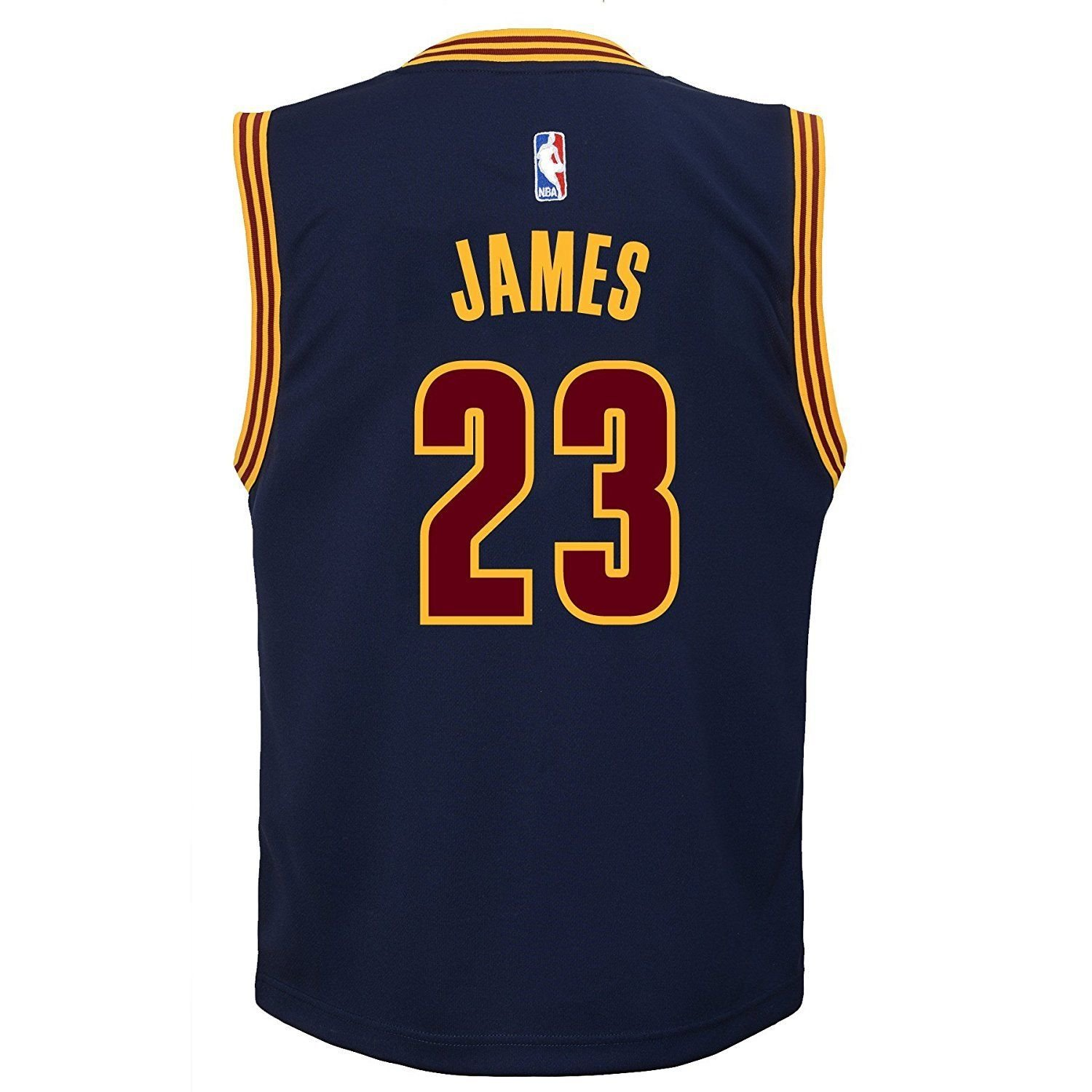 21e178fee Amazon.com   Outerstuff Lebron James Cleveland Cavaliers  23 Youth  Alternate Jersey Navy (Youth Medium 10 12)   Sports   Outdoors