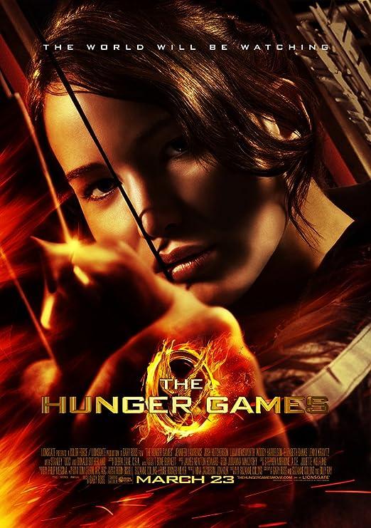 Amazon.com: Movie Poster The Hunger Games (2012) - Katniss Arrow ...