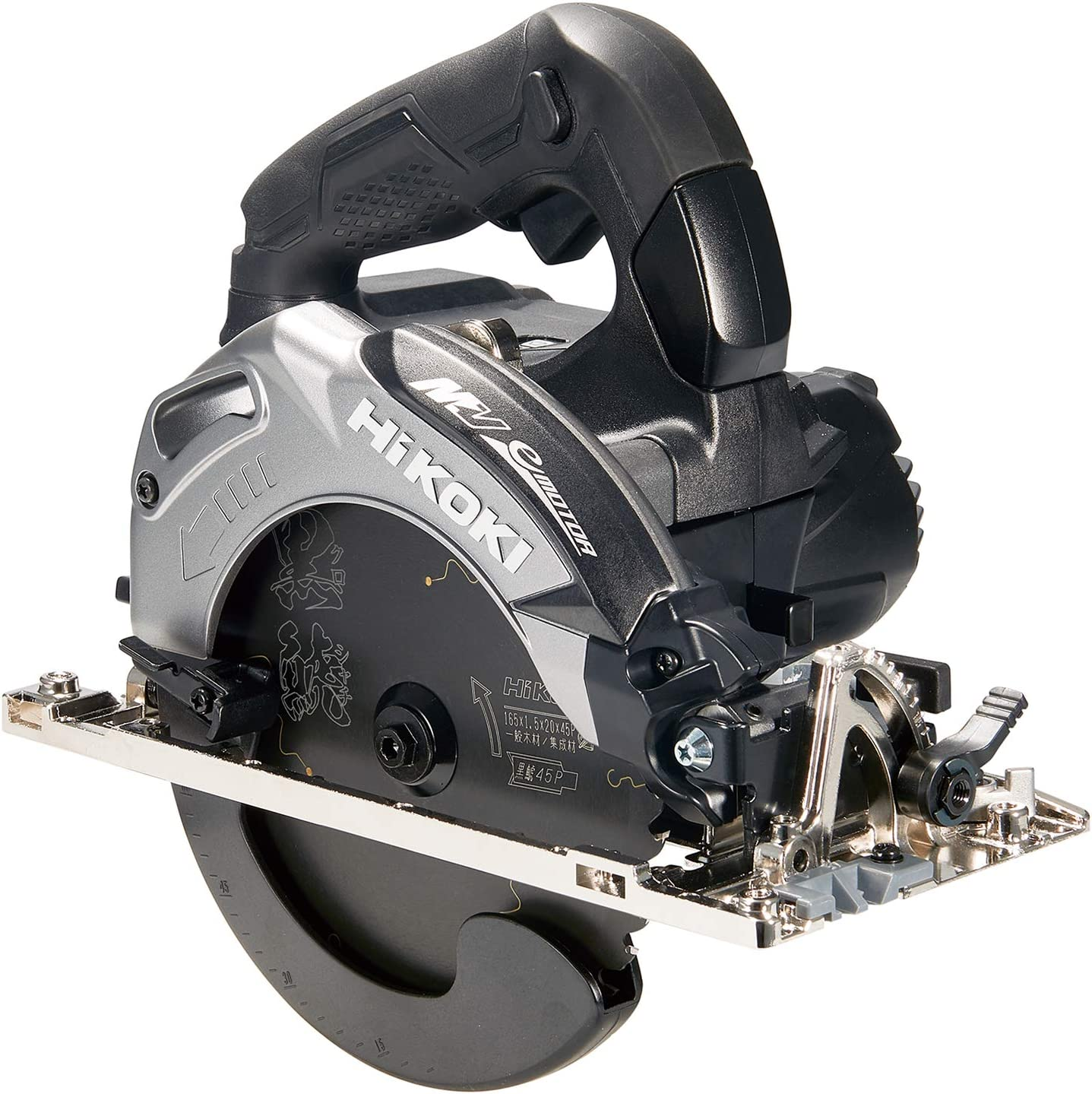 HiKOKI(ハイコーキ) コードレス丸のこ 36V マルチボルト 充電式・蓄電池・充電器別売り 刃径165mm ブラック ※純正梱包箱付 C3606DA (NNB)(K) スーパーチップソー黒鯱仕様