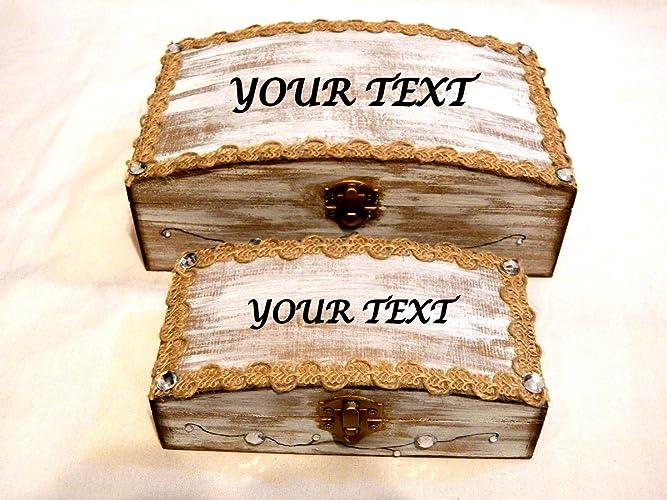 Set Personalizado, Conjunto de Boda. Regalo Caja Boda. Regalo Nupcial. Nombres Grabados