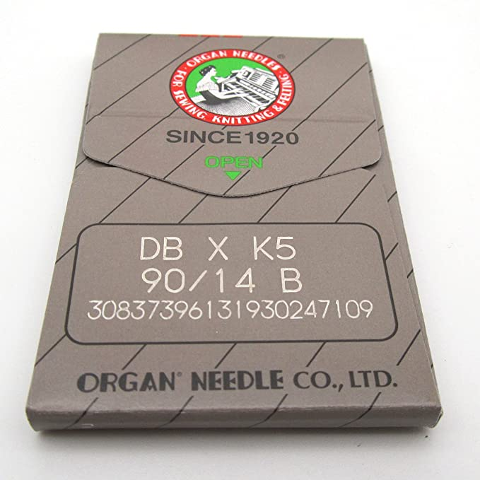 KUNPENG - 100 Organ DBXK5 BALL POINT Agujas ajuste para Tajima Barudan SWF Embroidery Machines (Size 75/11): Amazon.es: Hogar
