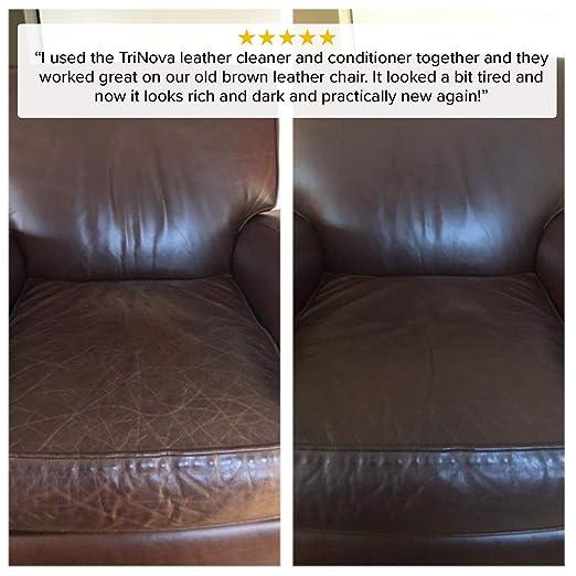 Amazon.com: Acondicionador y restaurador de cuero TriNova ...